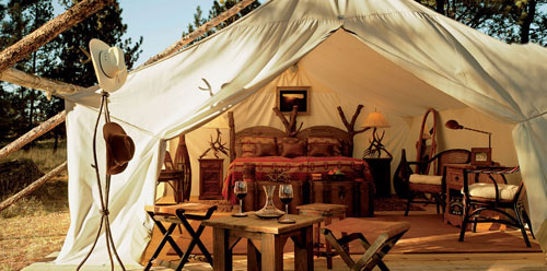 Glamping: Glamorous Camping at it's Best at Paws Up!
