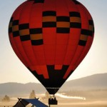 Ballooning at Paws Up