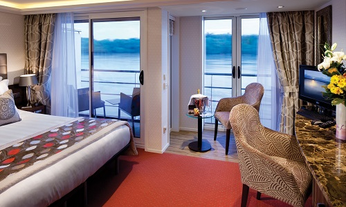 AMA Waterways - AmaCerto Twin Balcony Stateroom