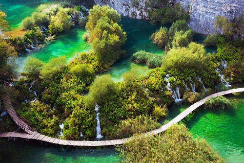 Croatia - Lake Plitvice National Park 500 x 333