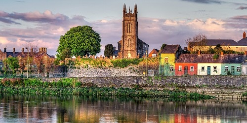 Ireland - Shannon River in Limerick