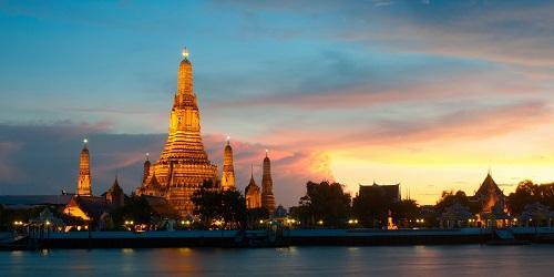 Thailand - Bangkok Wat Arun Temple of Dawn 500 x 250