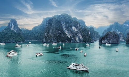 Early Morning At Ha Long Bay, Vietnam