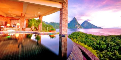 Jade Mountain A Breathtaking Luxury Resort In St Lucia